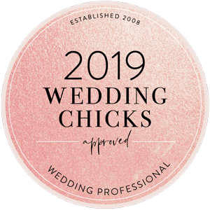 2019 Wedding Chicks Approved Wedding Professional